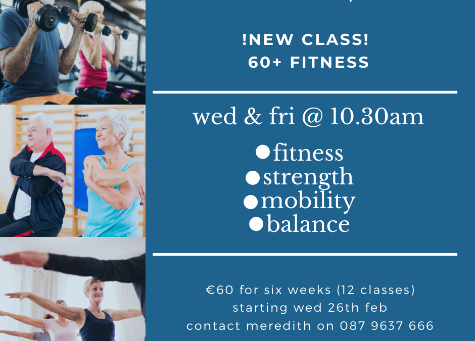 February – New Class Timetable!